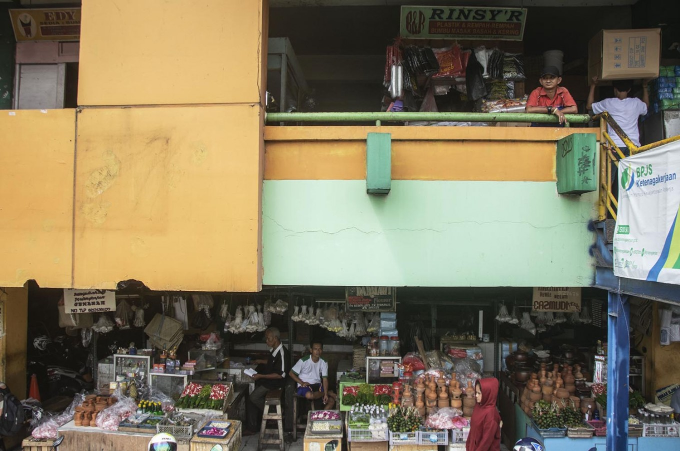 Tanah Abang market authorities deny accusations of illegal levies