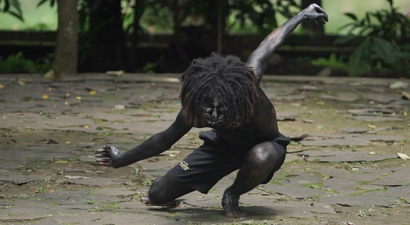 Dancer from Papua