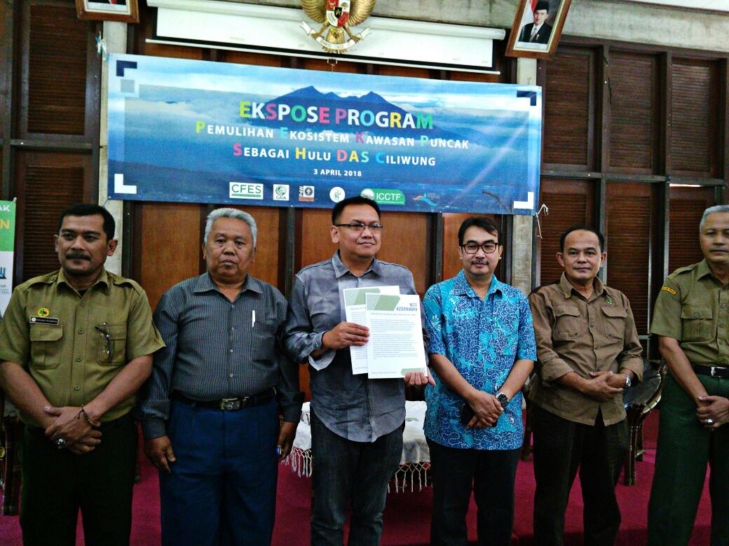 Land allocated to restore forests, ecosystem in Puncak