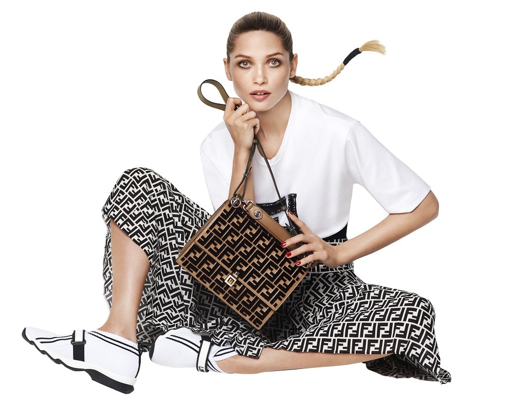 Fendi relaunches iconic logo with capsule collection