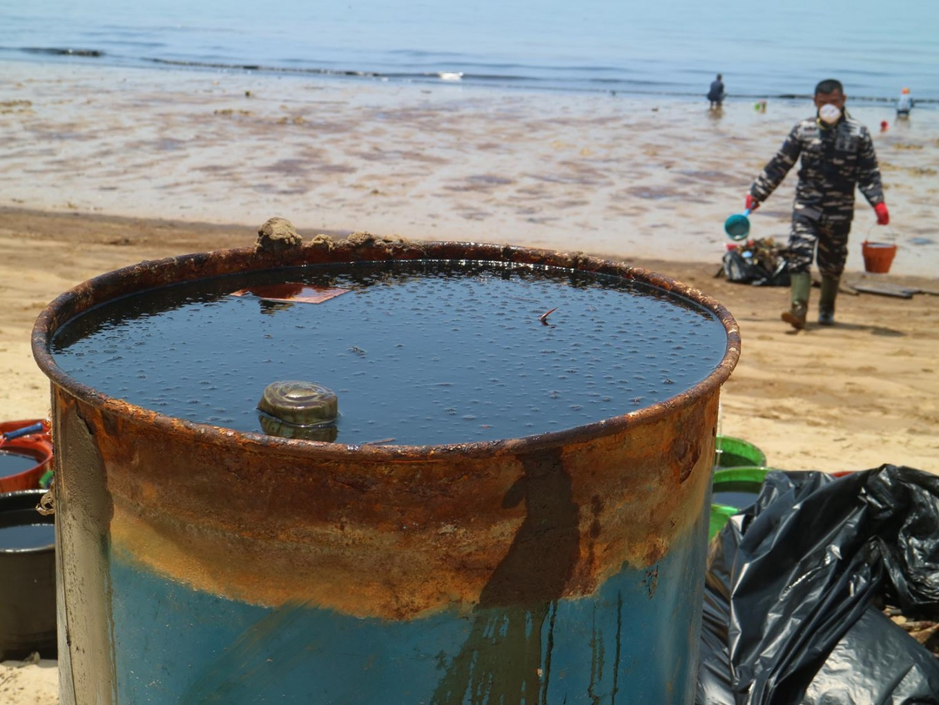 Pertamina sanctioned over Balikpapan oil spill