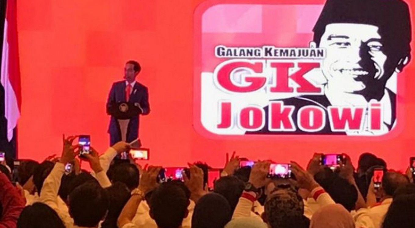 President Jokowi delivers angry speech to critics
