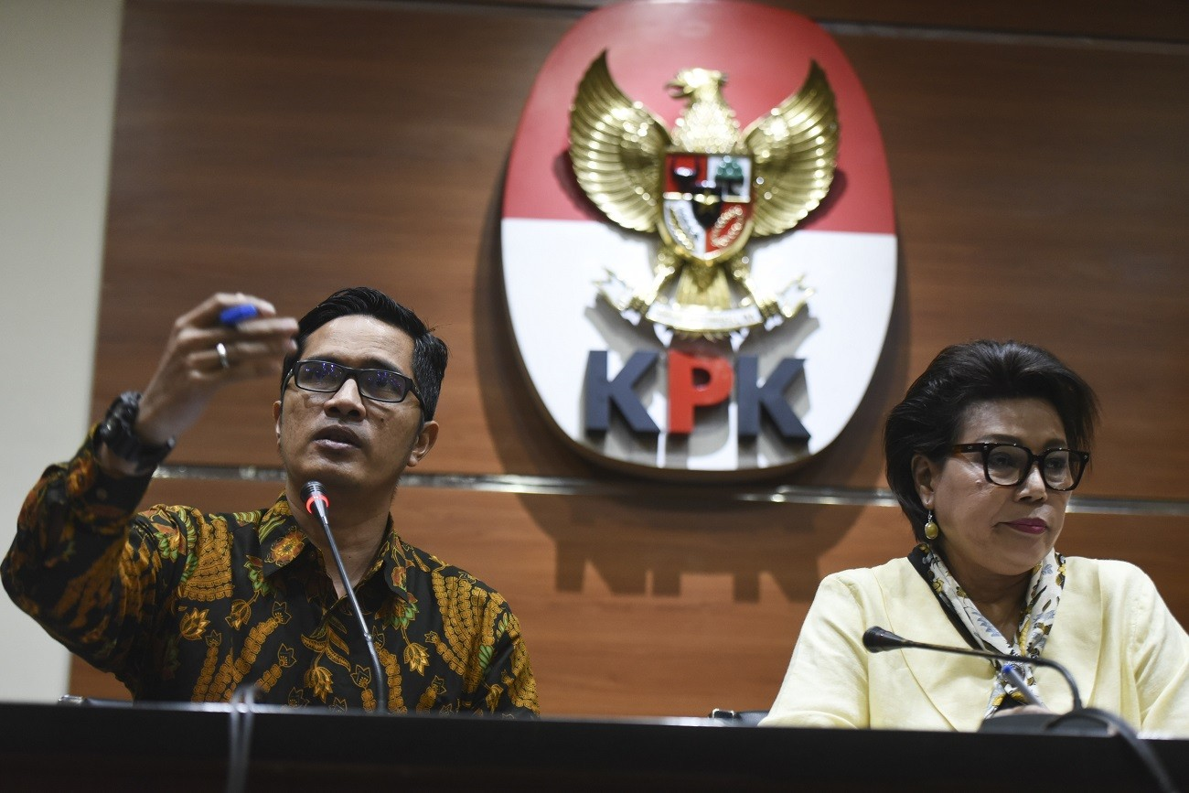 KPK nabs lawmaker for alleged graft