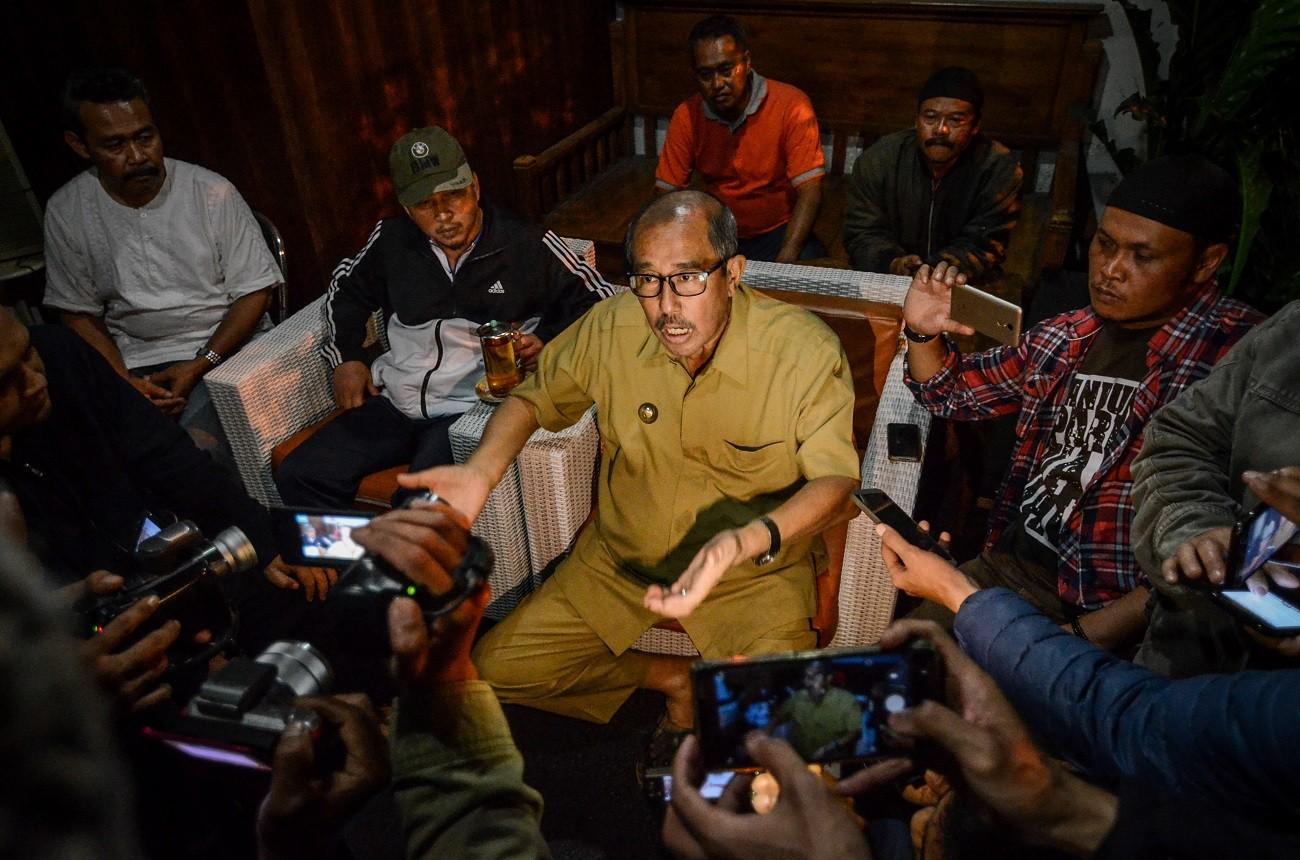 Chemotherapy prevents arrest of West Bandung regent by KPK