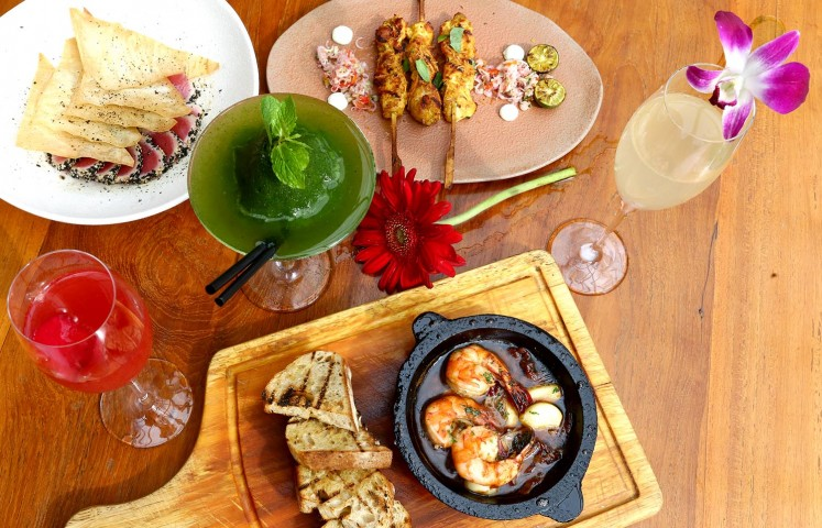 A selection of tapas at Cork & Screw.