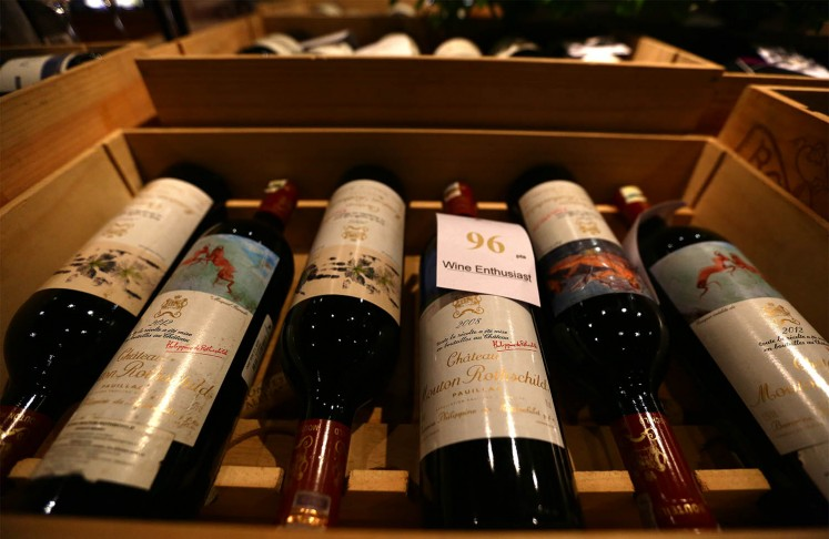Cork & Screw offers First Growth wines from Bordeaux.