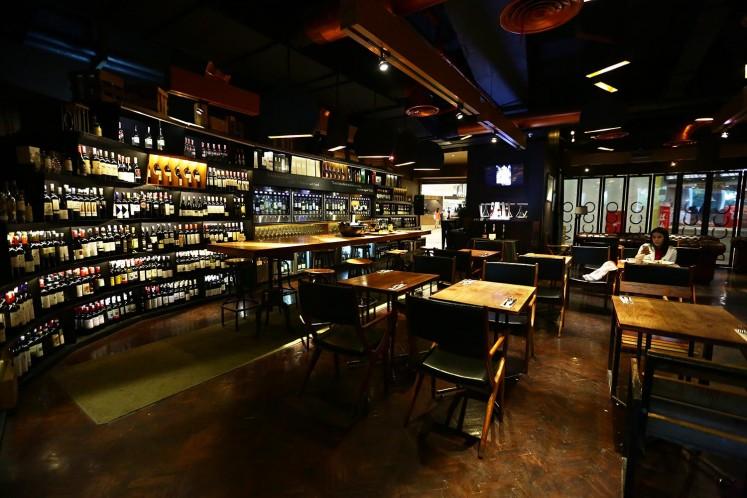 Bacco restaurant and bar.