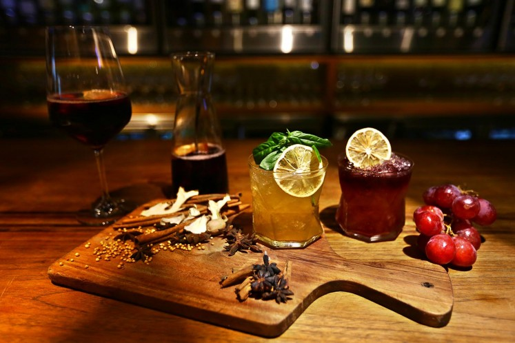 Unique cocktails on offer at Bacco.