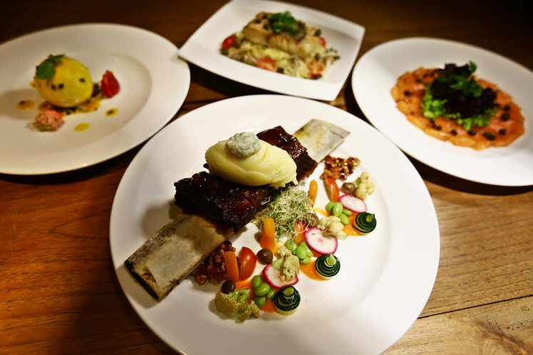 Highlight dishes at Bacco