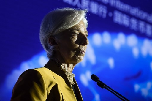 Plane carrying IMF's Lagarde makes emergency landing in Argentina -media
