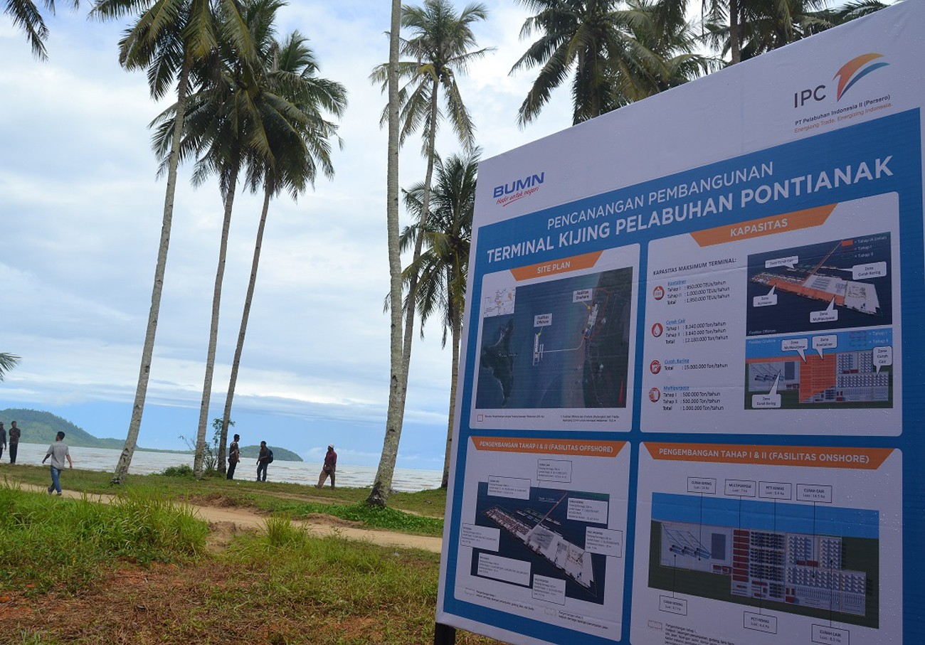 West Kalimantan to have new port in 2019