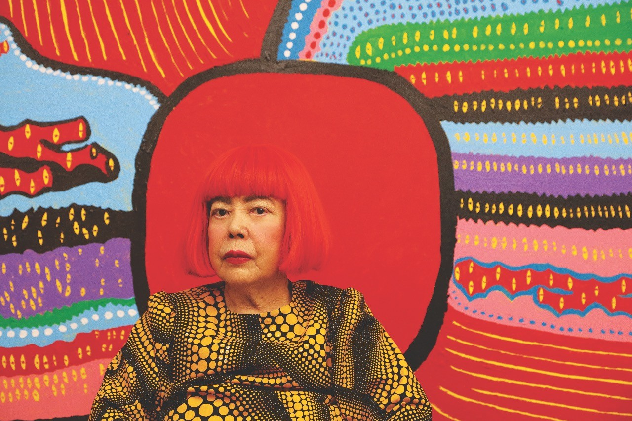 Yayoi Kusama exhibition tickets now on sale