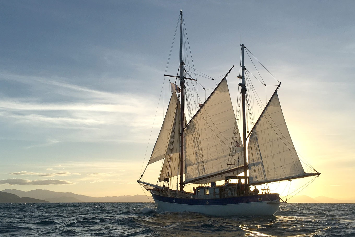 Sailing seas to save Mother Earth