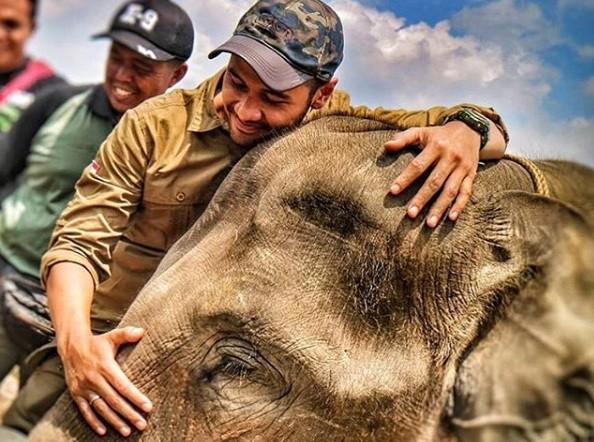 Chicco Jerikho on mission to save Sumatran elephant