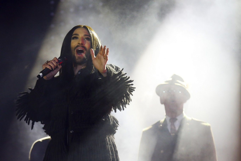 Bearded diva Conchita Wurst reveals HIV-positive