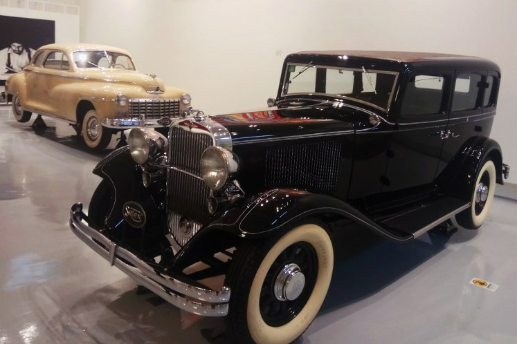 A 1928 Dodge and 1948 Dodge Coupe at Tumurun Private Museum