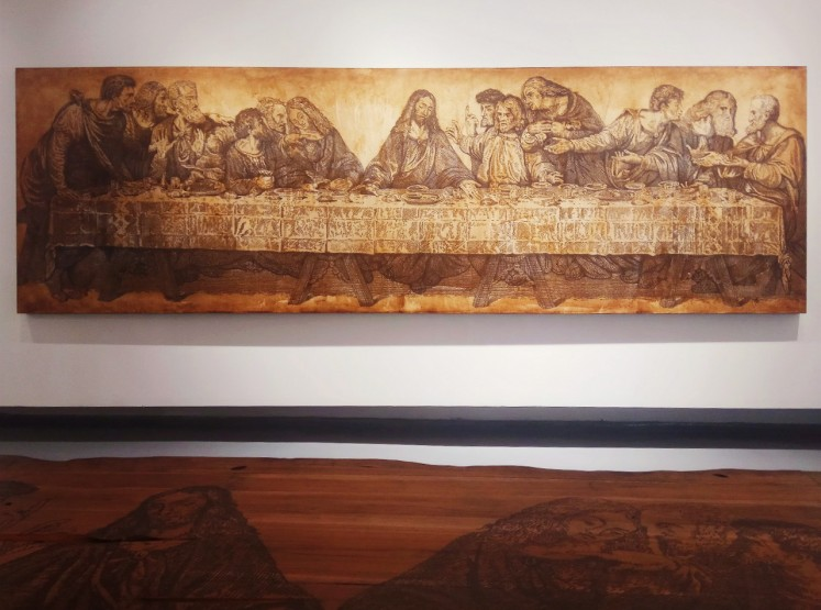 The Last Supper by Eddy Susanto, displayed at Tumurun Private Museum