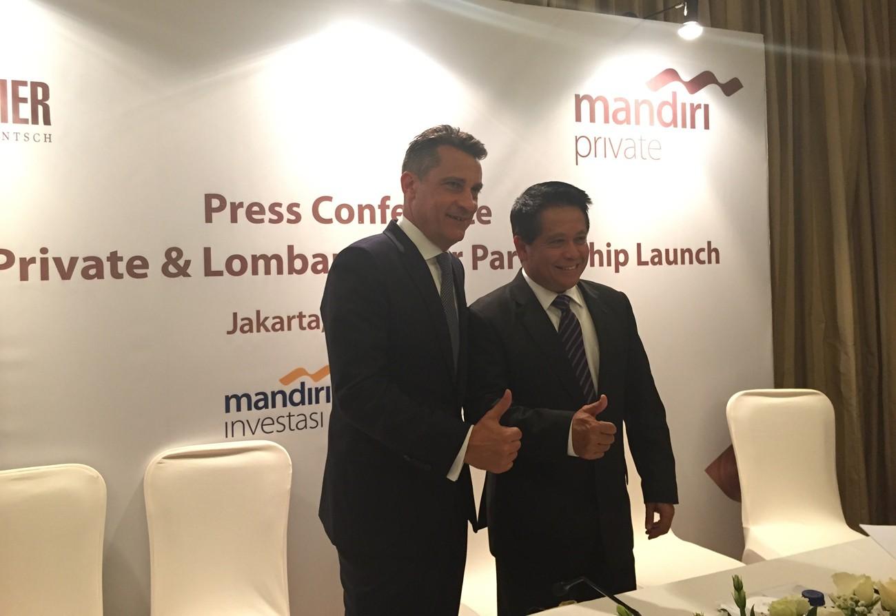 Bank Mandiri, Lombard Odier announces partnership - Business