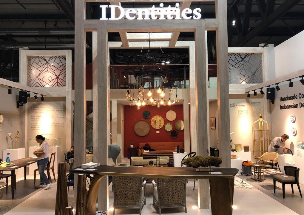 Indonesia highlights handmade designs, local talent at Milan fair
