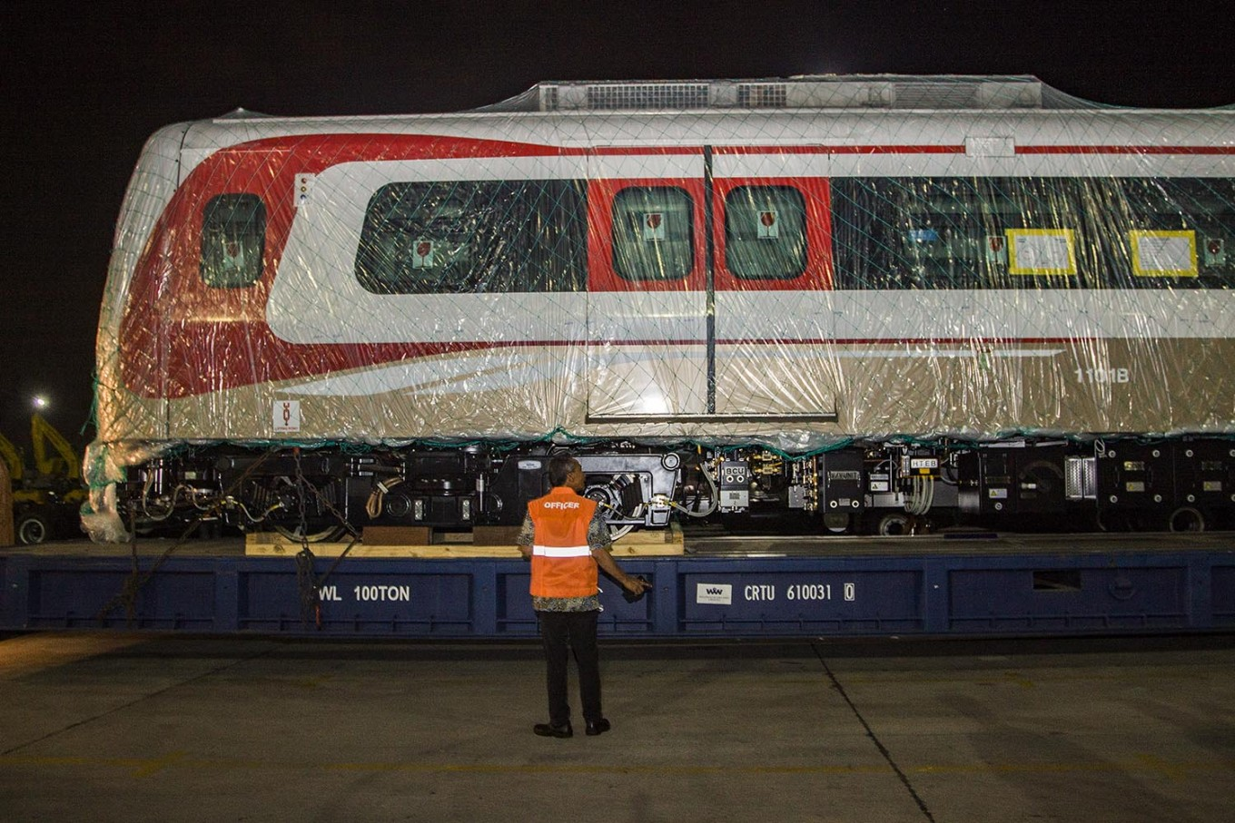 Six more LRT cars to arrive on Saturday