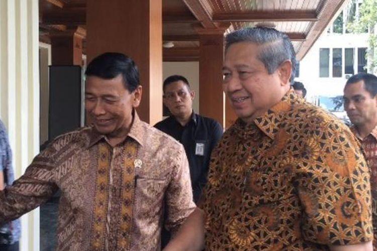 Wiranto, SBY meet, discuss politics ahead of elections