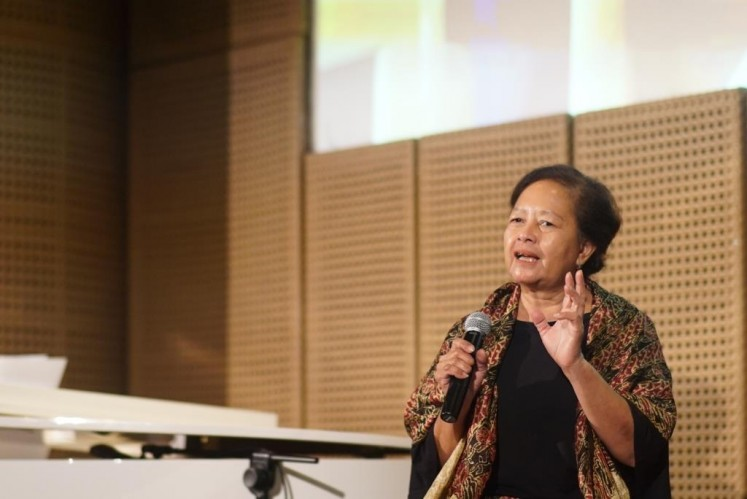Speaking to reporters to mark the opening on April 16, Pram's daughter, Astuti Ananta Toer, said the family together with organizers had carefully curated manuscripts of his works as well as personal letters written by him.