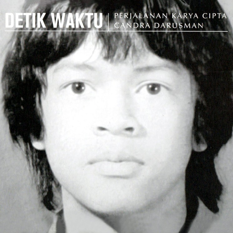 Detik Waktu (Time's Seconds), a selection of 14 of Candra Darusman's songs from throughout his 40-year career