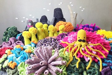 Mulyana: Blowing fresh wind with crochet for ARTJOG