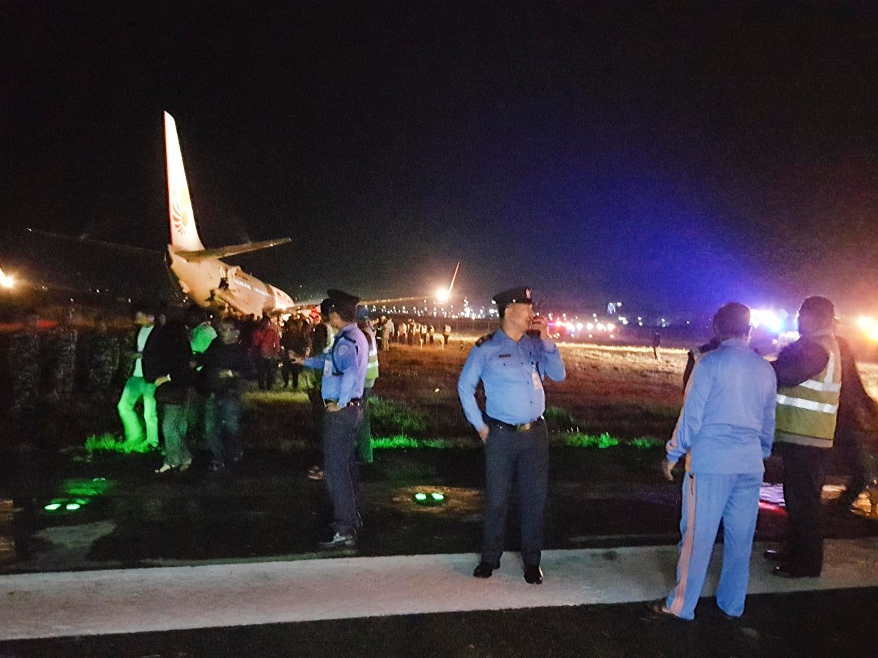 Malindo Air flight suffers runway excursion in Kathmandu