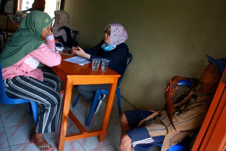 Healthcare volunteers