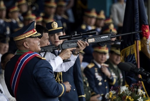 Philippines' Duterte says no 'justice' for families of drugs war casualties