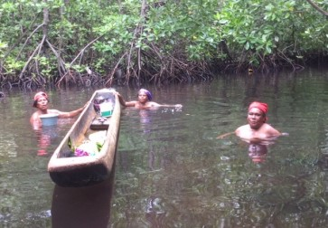 Papuans celebrate womanhood in mangrove forest