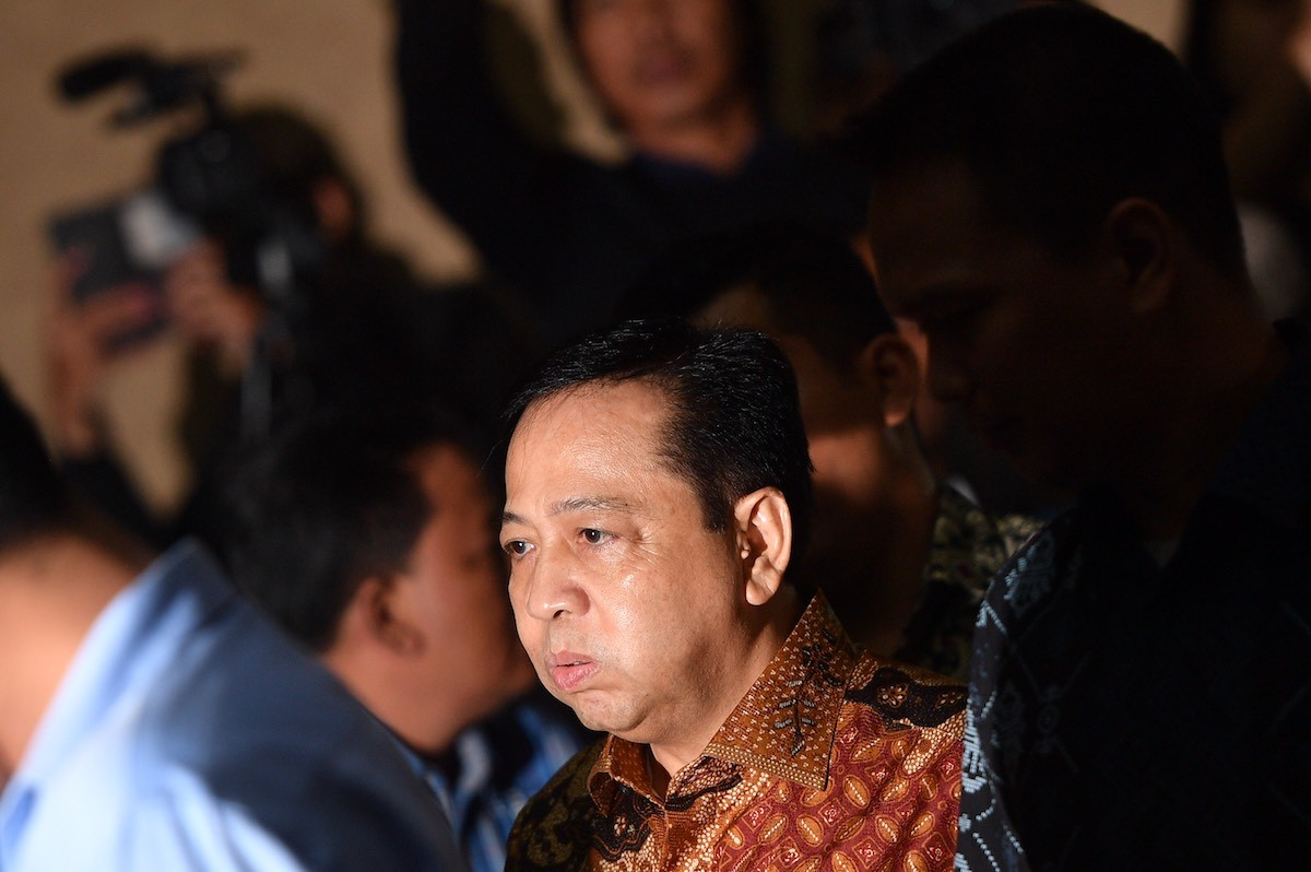 Setya Novanto transferred to high-security prison after hanging out in Bandung