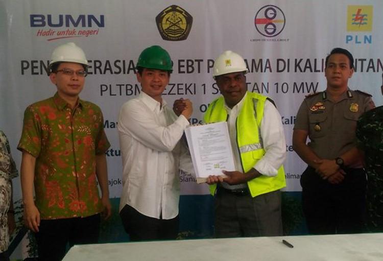 PLN operates first biomass power plant