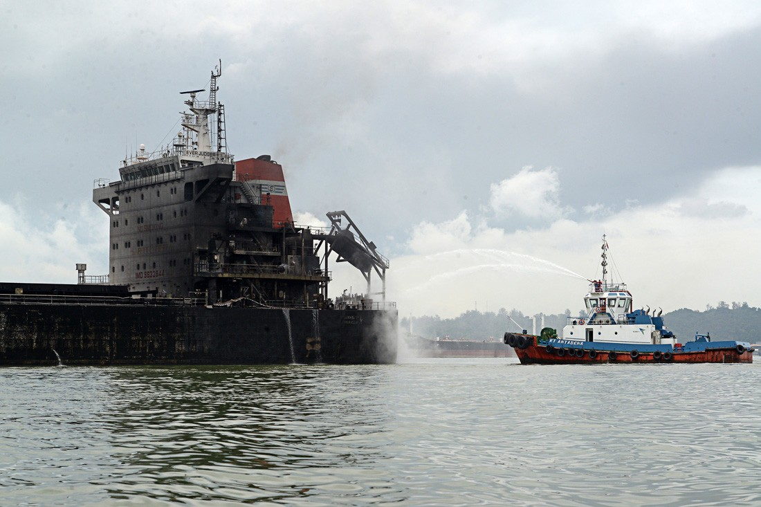 Ship's captain named suspect in Balikpapan oil spill