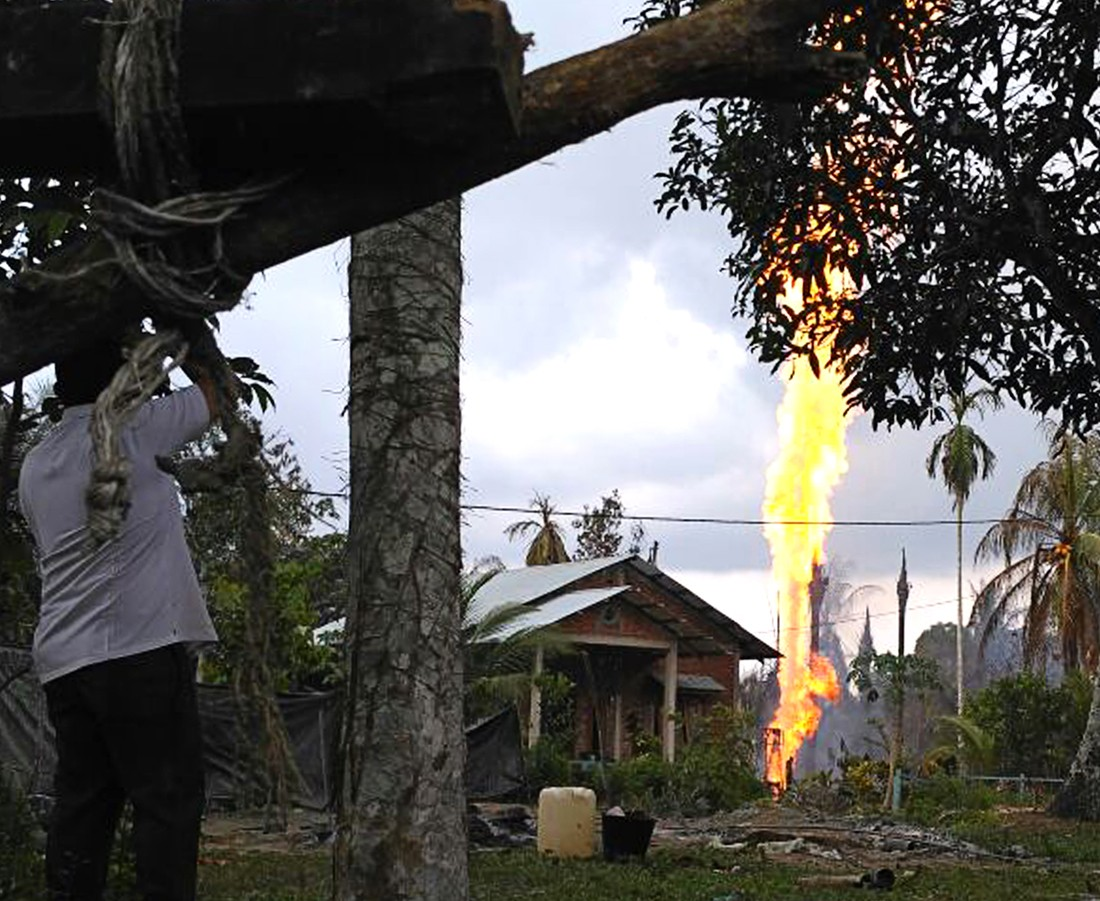 Death toll in Aceh oil well fire rises to 11