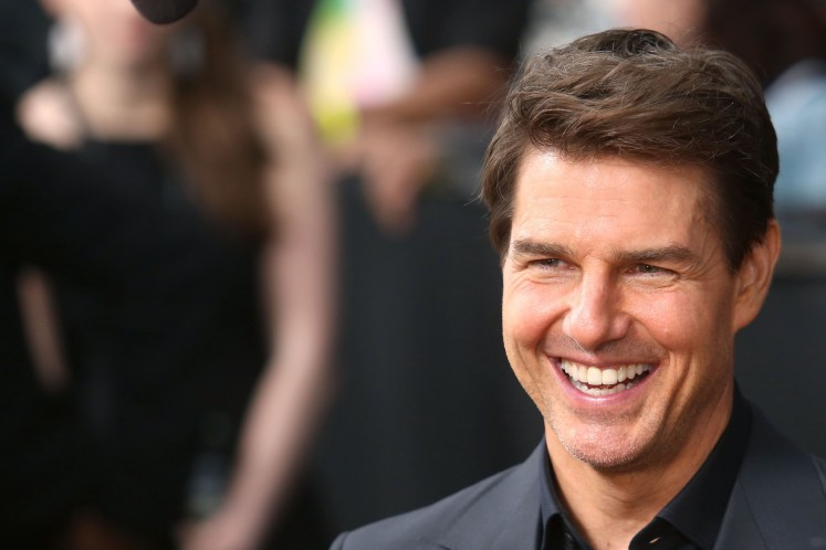 Tom Cruise attends the premiere of 'The Mummy' at the AMC Lincoln Square Theater on June 6, 2017 in New York City.