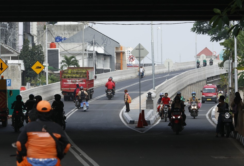 Bogor closes Cileungsi flyover for film shoot