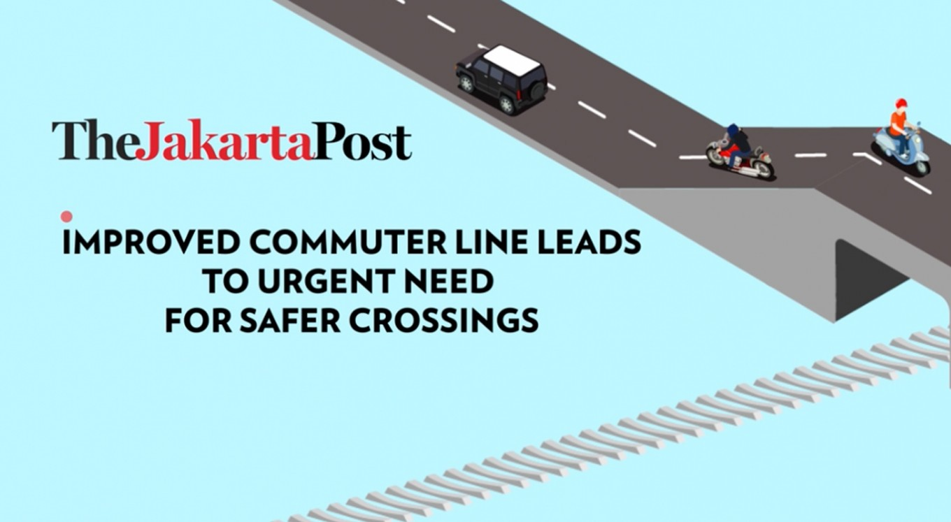 Improved commuter line leads to urgent need for safer crossings