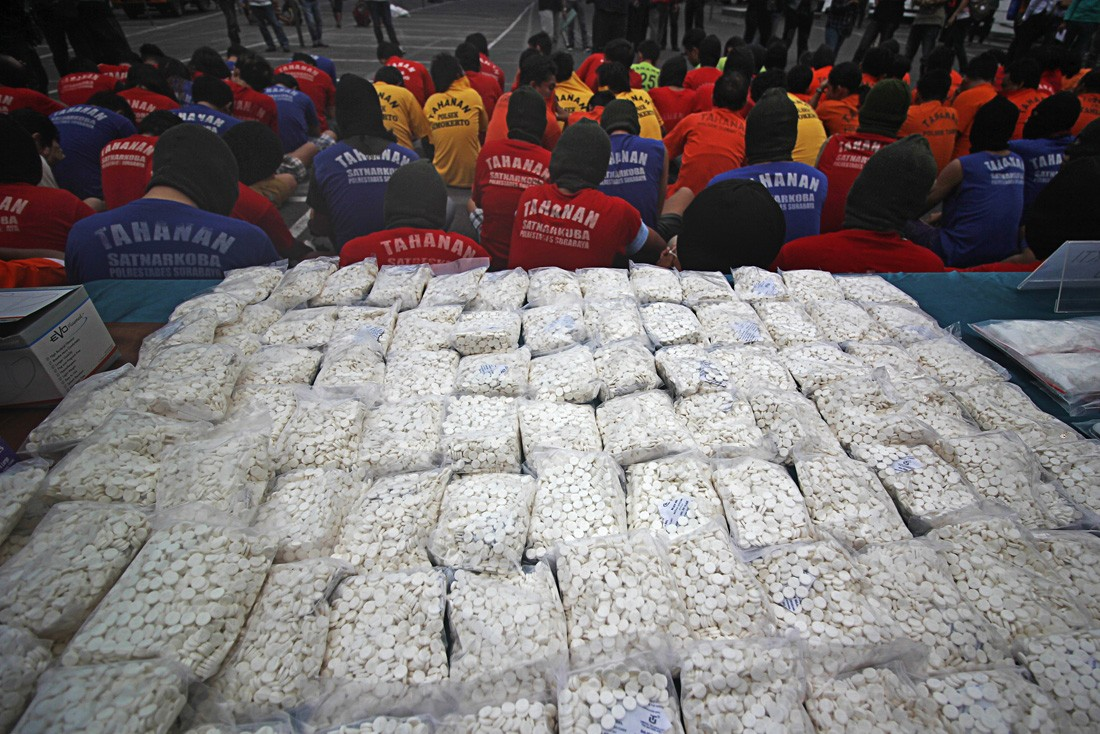 Malaysia makes record 1.2 ton seizure of crystal meth