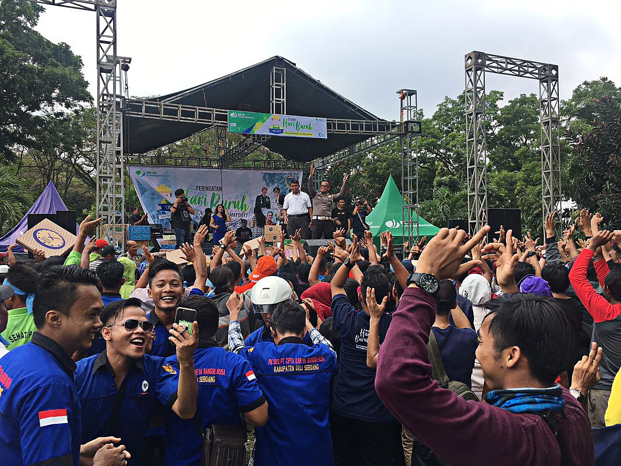 May Day celebrated in Medan without incident