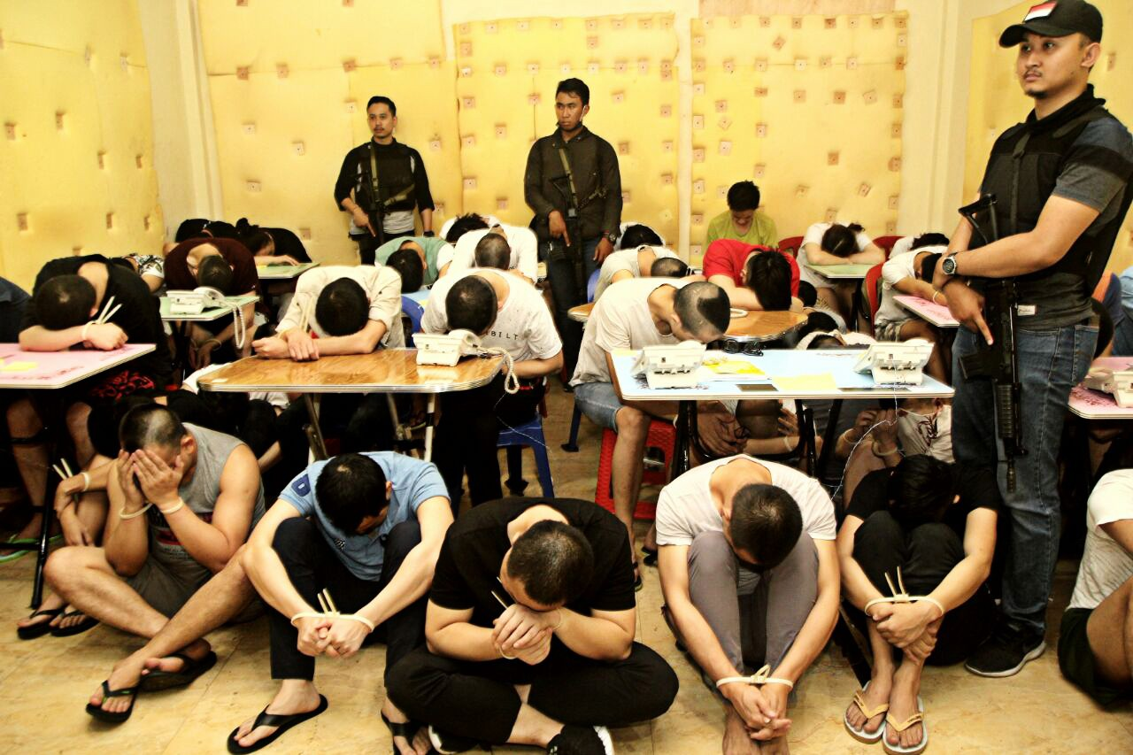 103 Chinese nationals arrested for alleged cyber fraud