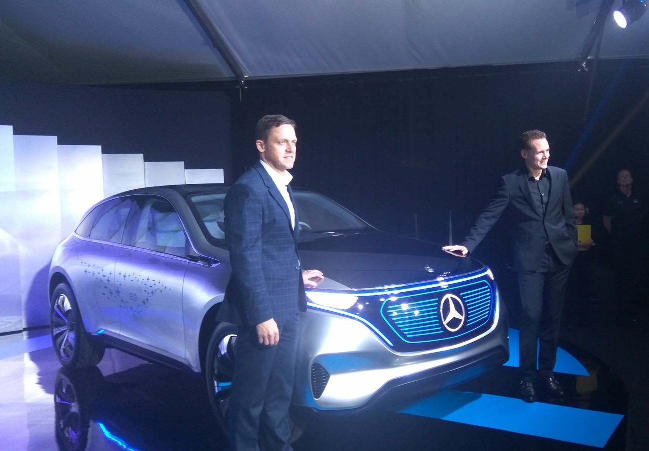 Mercedes-Benz unveils Concept EQ in Kuala Lumpur