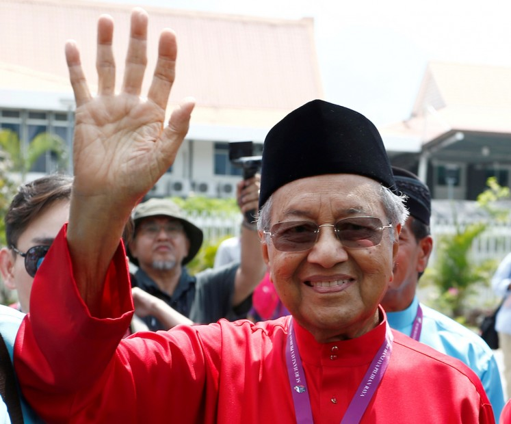 Malaysia's opposition leaderMahathirunder investigation for 'fake news : Police