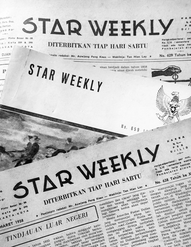 Star Weekly magazine