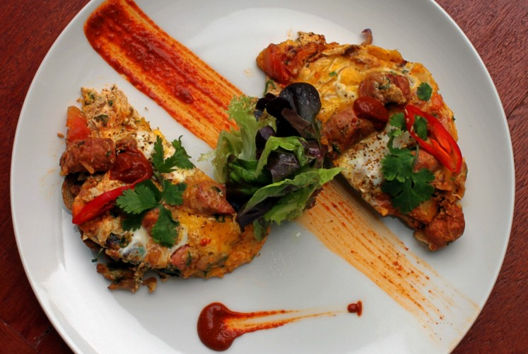 Moroccan brunch item by Poach'd.