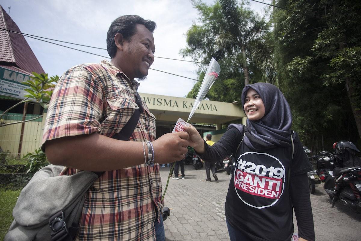 PKS politician leads anti-Jokowi declaration in Jakarta