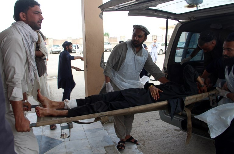 Dozens of casualties in blast at Afghan voter registration centre: officials