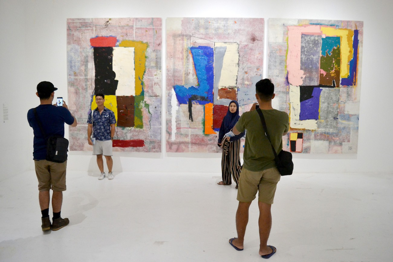 ARTJOG has captured the attention of art lovers and collectors visiting Yogyakarta.