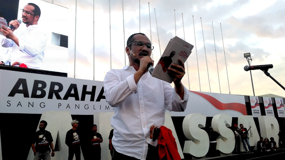 Former KPK leader, Abraham Samad, gets 'eastern Indonesia' support for presidential run